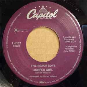 The Beach Boys - Surfer Girl / Little Deuce Coupe