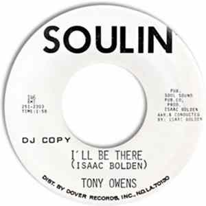 Tony Owens - Wishing, Waiting, Hoping / I'll Be There