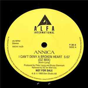 Annica - I Can't Deny A Broken Heart