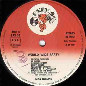 Max Berlins - World Wide Party